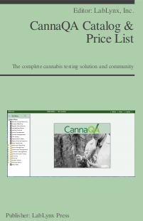 CannaQA Catalog & Price List